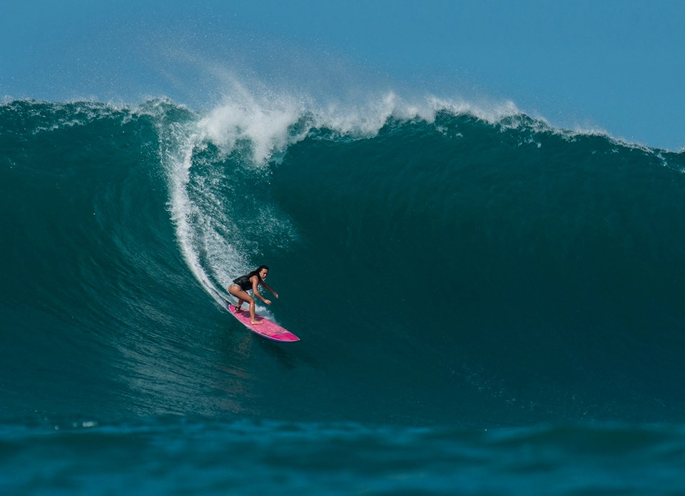 Big Wave surfer Makani Adric