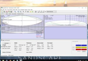 Programas for designing Surfboard shapes