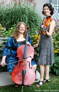 Sarah Beth Shiplett, violin and Katherine Moller, cello
