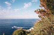 Abb. 1 Die französische Mittelmeer-Küste an der Insel Planier bei Marseille. Hier entdeckte der französische Kaufmann Pierre Vogel eine versunkene Stadt aus weit prähistorischer Zeit.