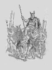 Abb. 3 Ob es tatsächlich einen riesenhaften König der Teutonen namens Teutobuchus gab, und wie groß er wirklich war, wird sich wohl nicht mehr zweifelsfrei klären lassen.