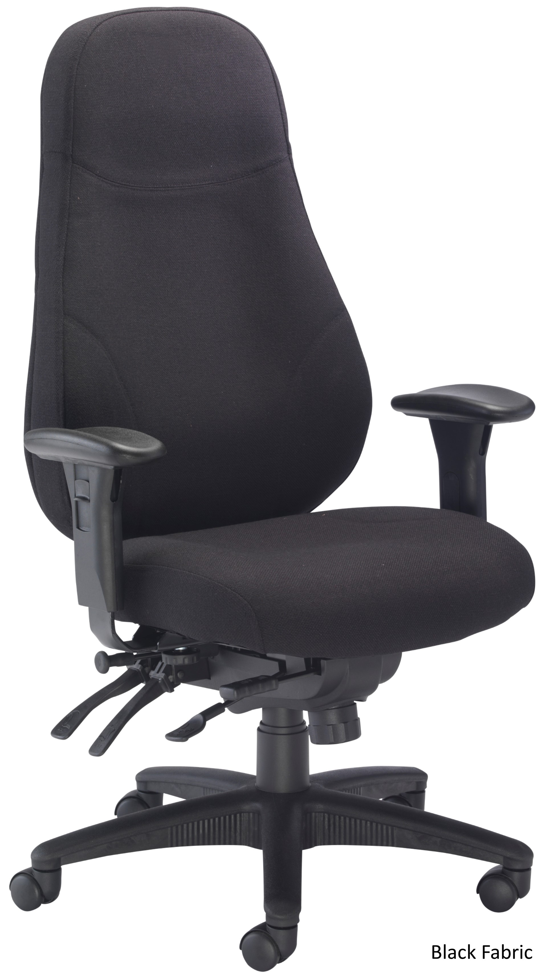 Heavy Duty Office Chair Panther Fabric Heavy Duty Office Chair Atlantis Office