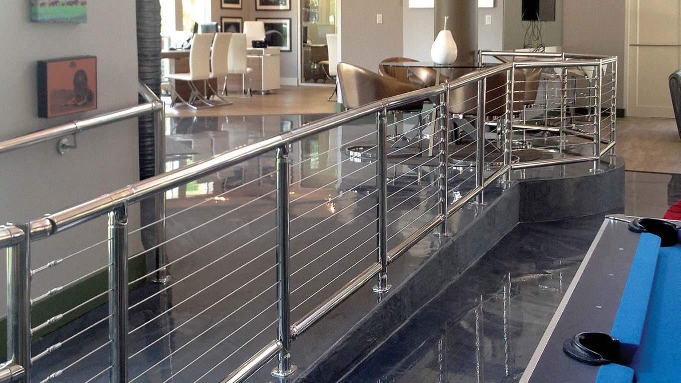 4 Commercial Uses For Cable Railing Atlantis Rail Systems   Commercial Handrails And Railings   Metal   Wood   Guardrail   Pipe Railing   Stainless Steel Railing