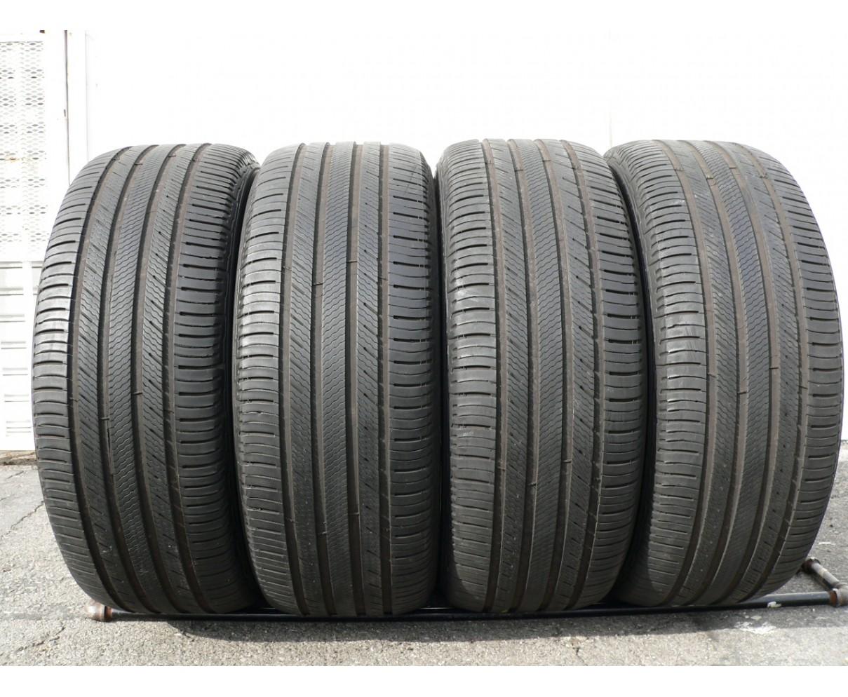4 used tires 255 50 20 Michelin Premier LTX 109V 50% life
