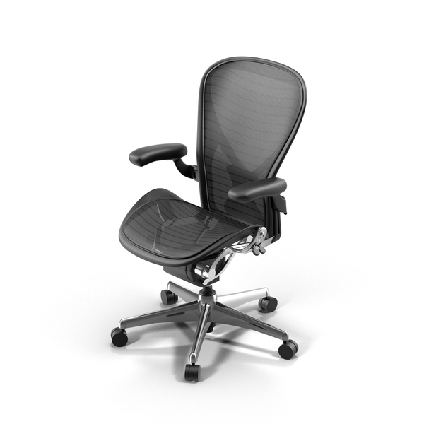 aeron chair drafting stool swivel desk chairs without wheels furnishings png images & psds for download | pixelsquid