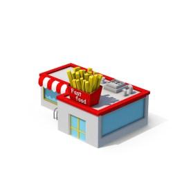 Fast Food Restaurant PNG Images & PSDs for Download PixelSquid S11193481C