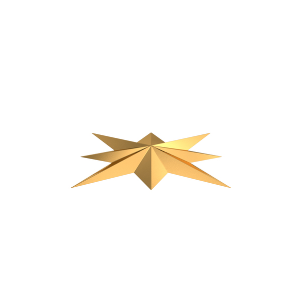 Gold Compass Star PNG Images & PSDs for Download | PixelSquid - S10717050F