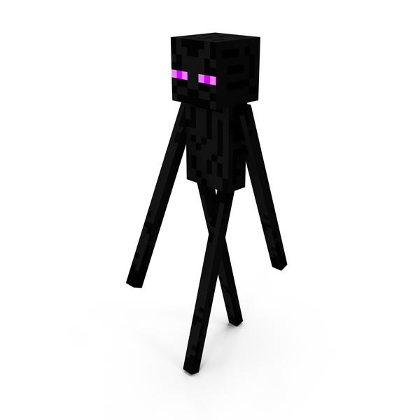Minecraft EnderMan PNG Images Amp PSDs For Download