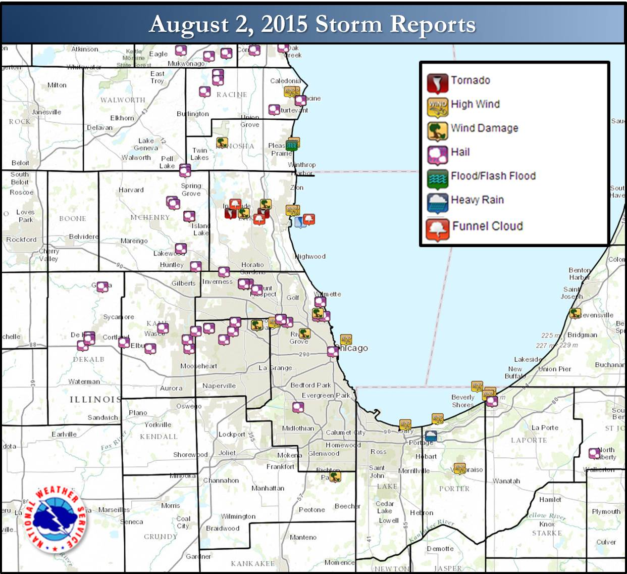 hight resolution of public information statement national weather service chicago il 835 pm cdt mon aug 3 2015 nws damage survey results for august 2 2015 lake county il