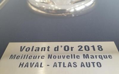 ATLAS AUTO récompensée lors de la soirée des «Volants d'Or»