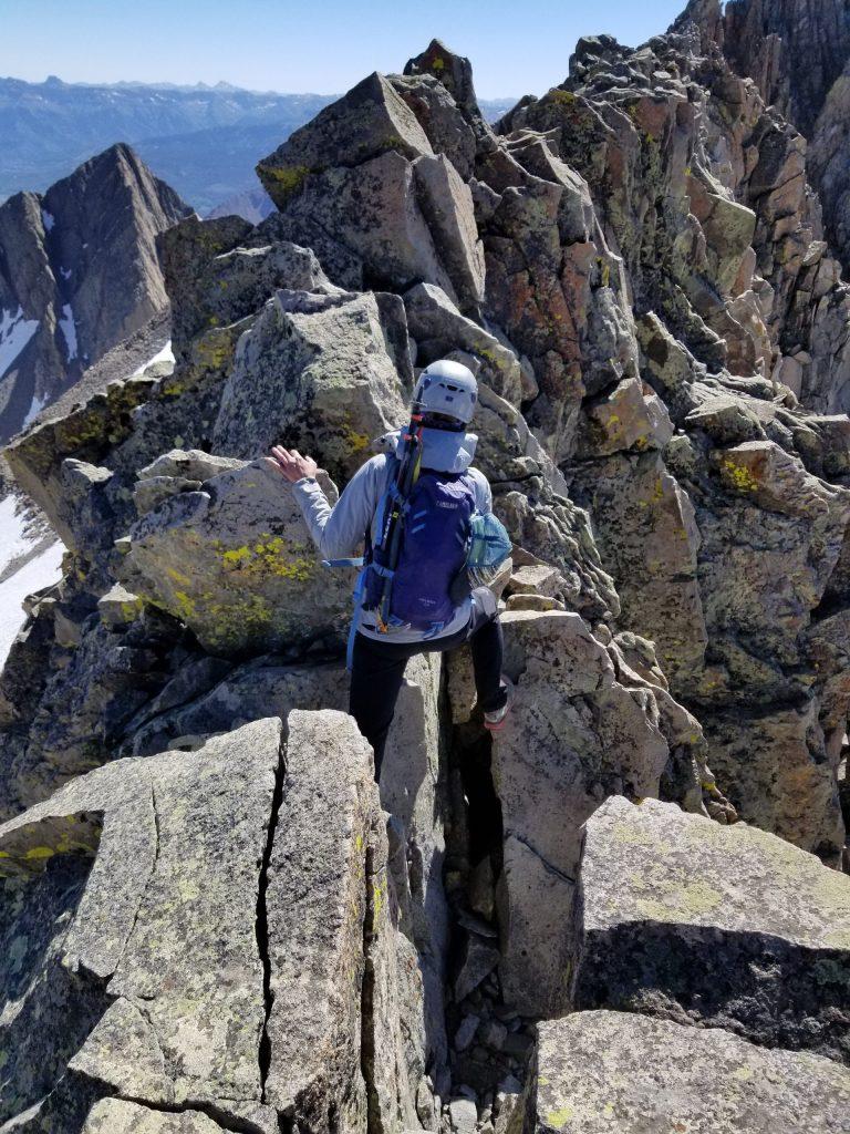 Doing the El Diente/Mt. Wilson Traverse