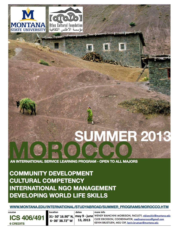 Intercultural Studies Morocco