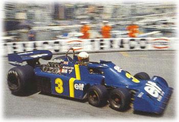 JTyrell P34 at Monaco