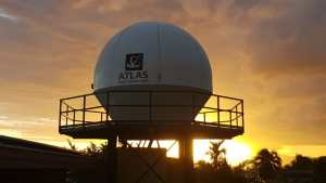 atlas space operations tahiti ground station