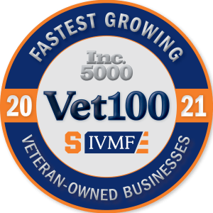 Vet100 fastest growing veteran-owned businesses