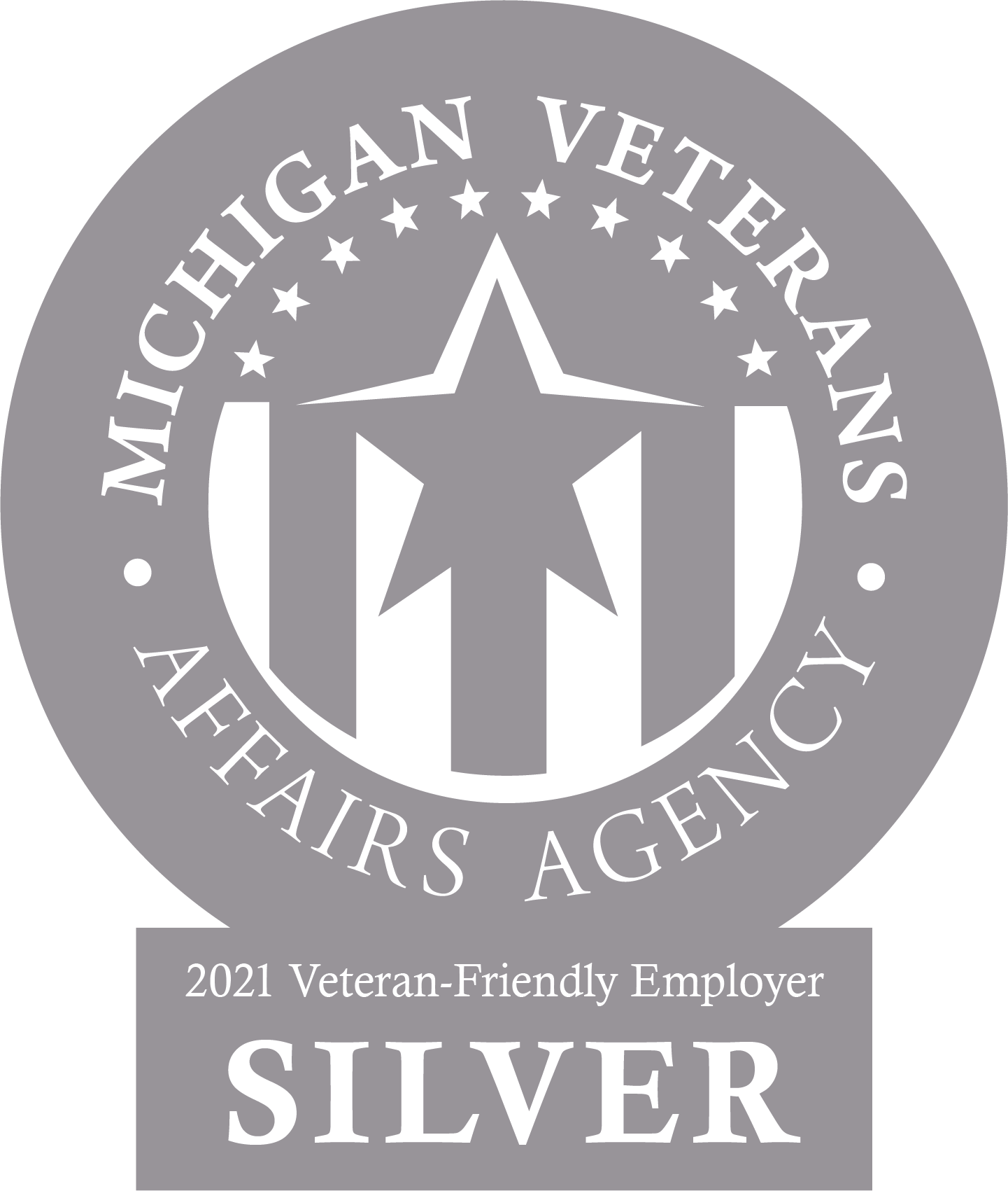 Michigan Veterans Affairs Agency 2021_Silver Certified Employer