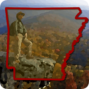 App icon for the Arkansas Hiker on Android
