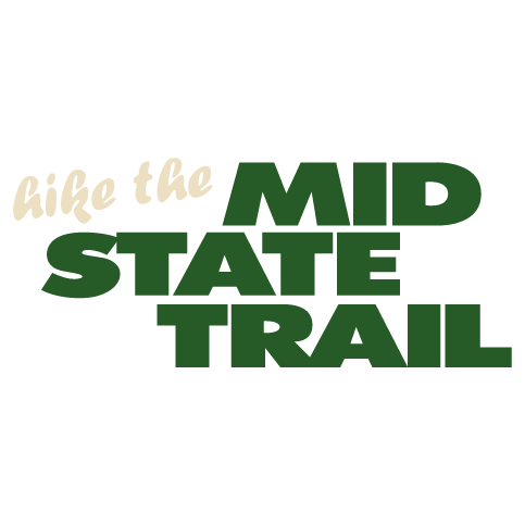 Logo for the Mid State Trail Association