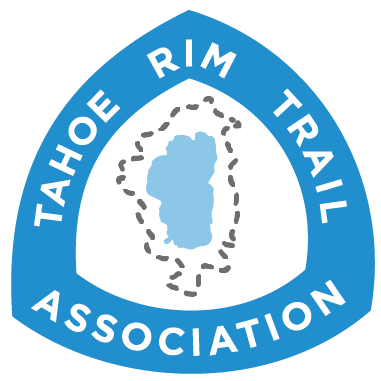 Logo for the Tahoe Rim Trail Association
