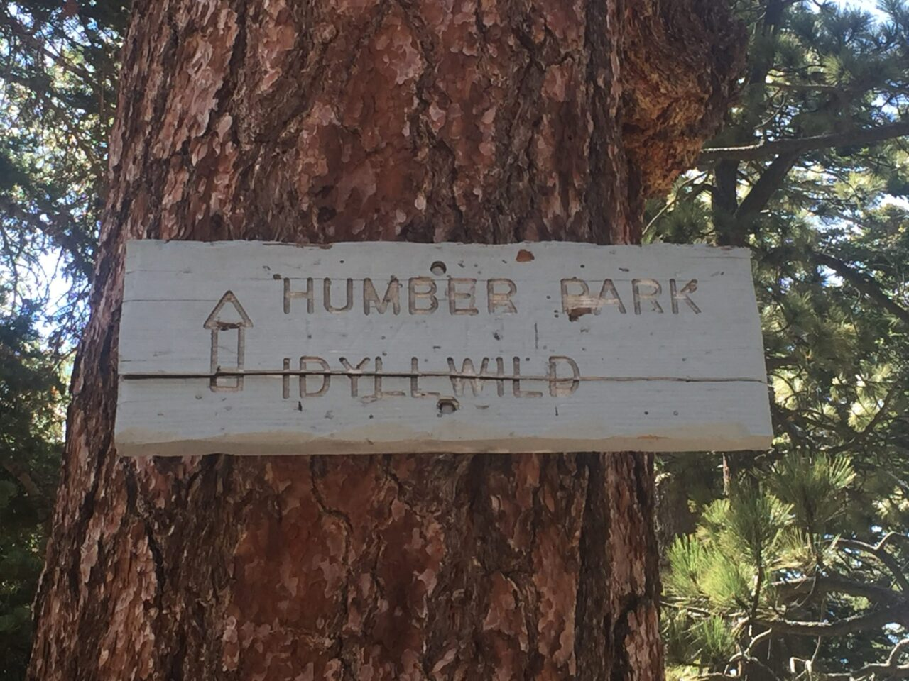 Humber Park sign