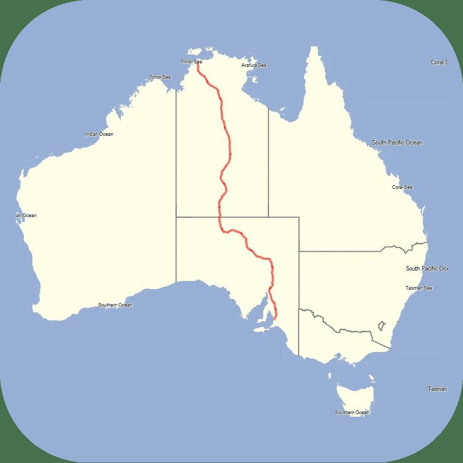 Australia Epic Rides App Icon