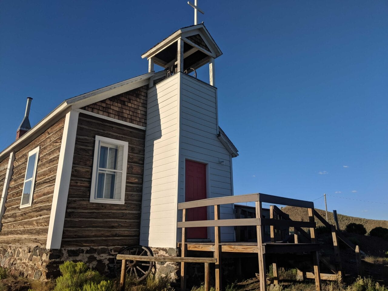 A church in Wyoming
