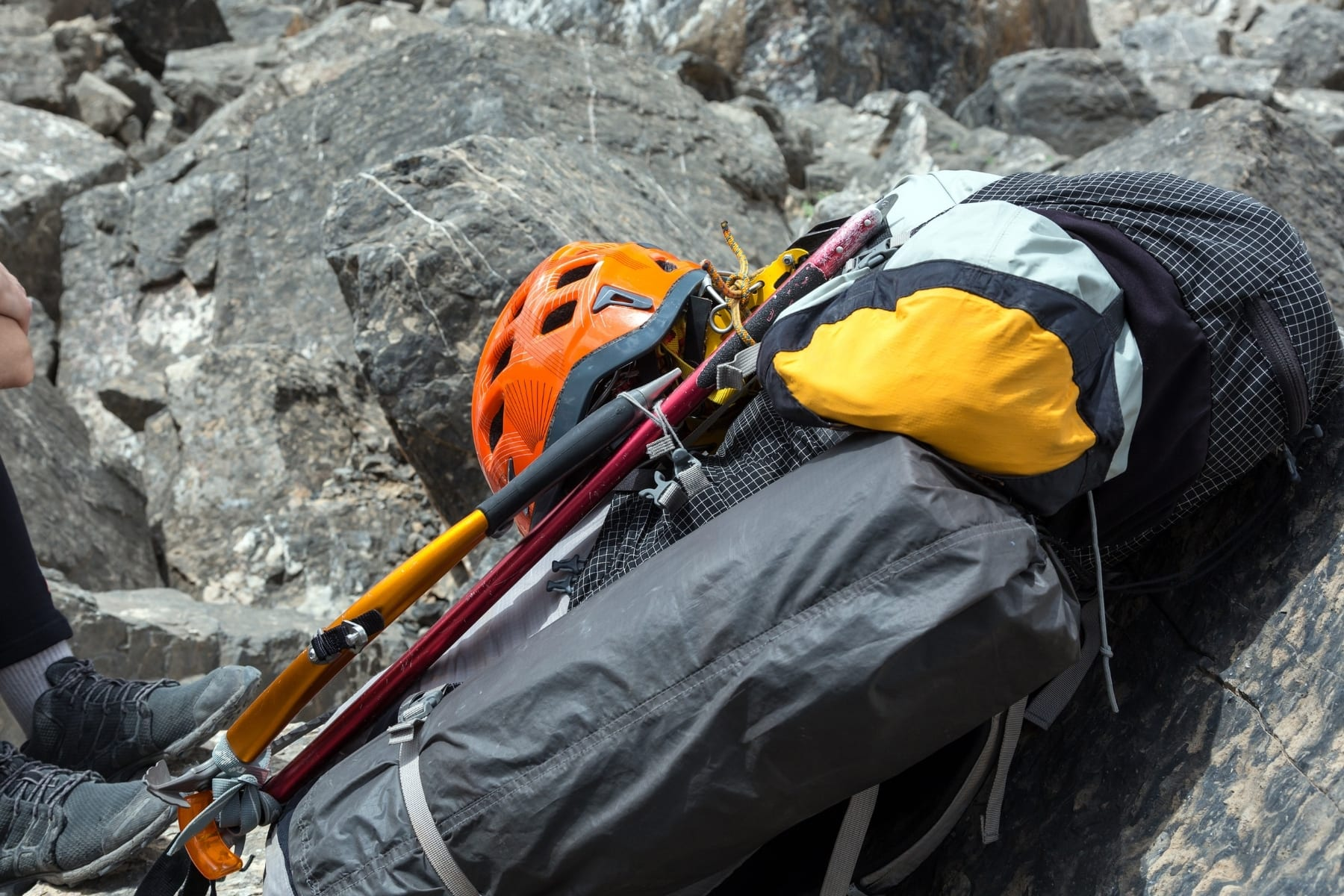 Backpacking gear