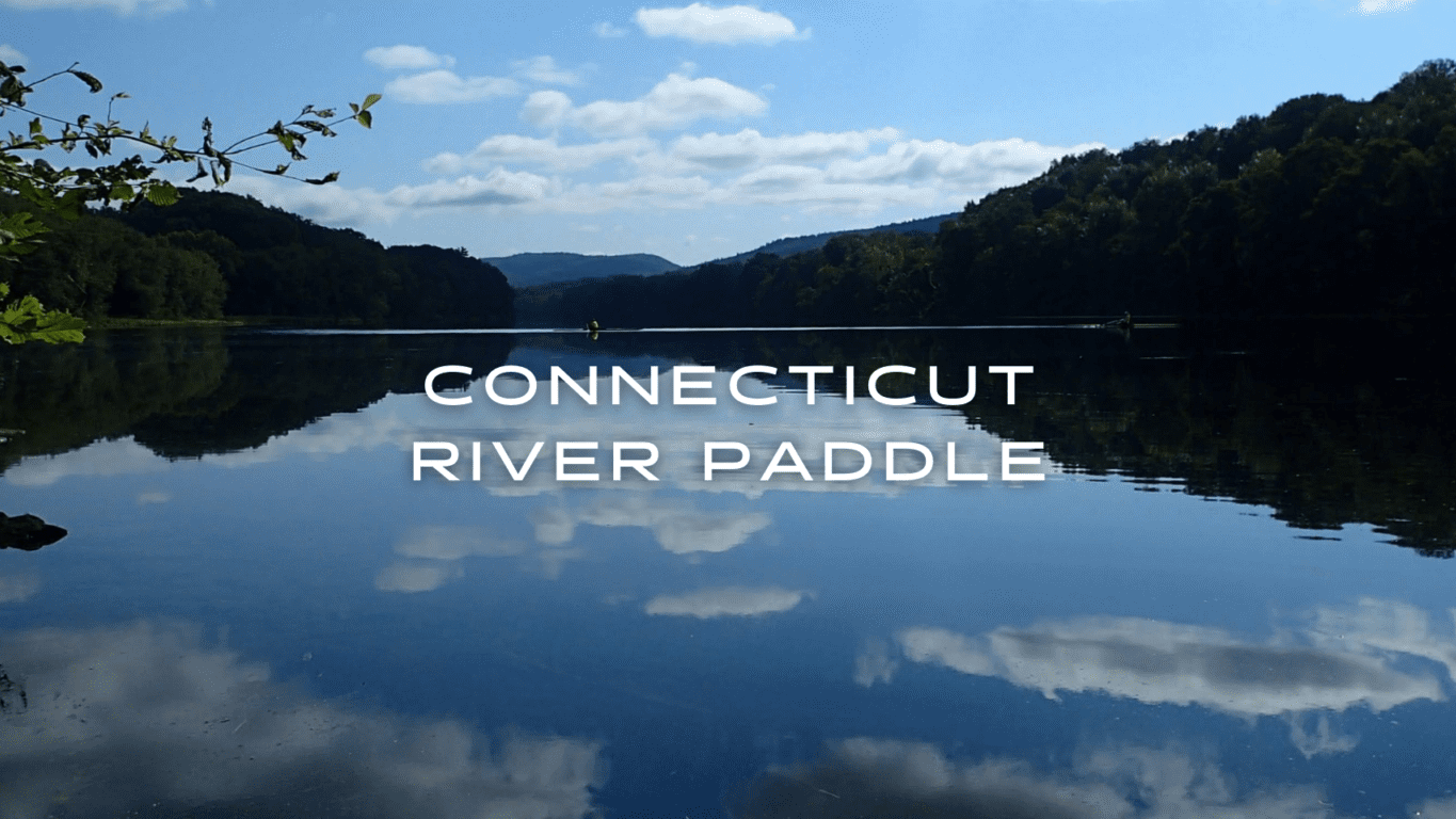 Reflection of the clouds on the Connect River Paddle journey