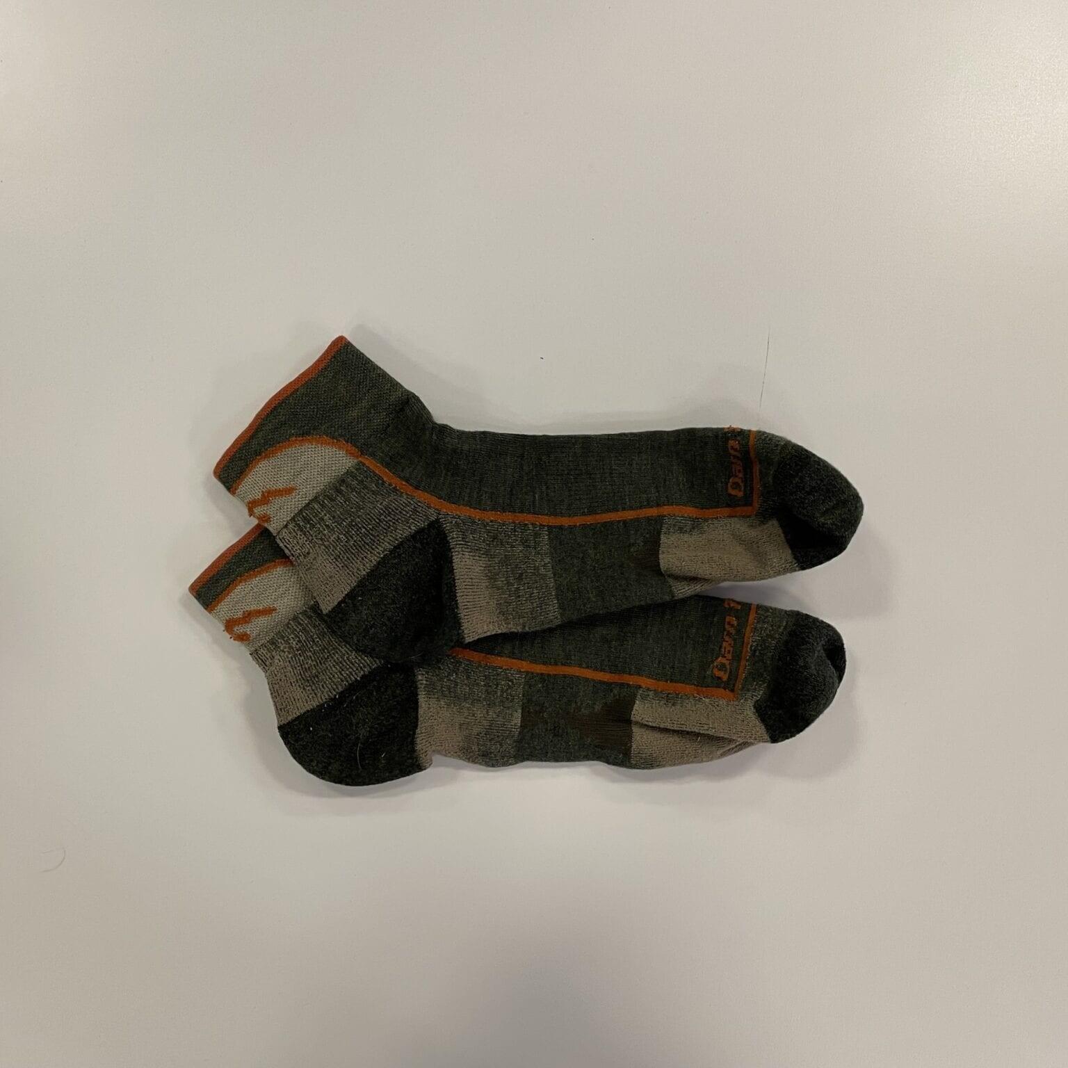 a pair of hiking socks