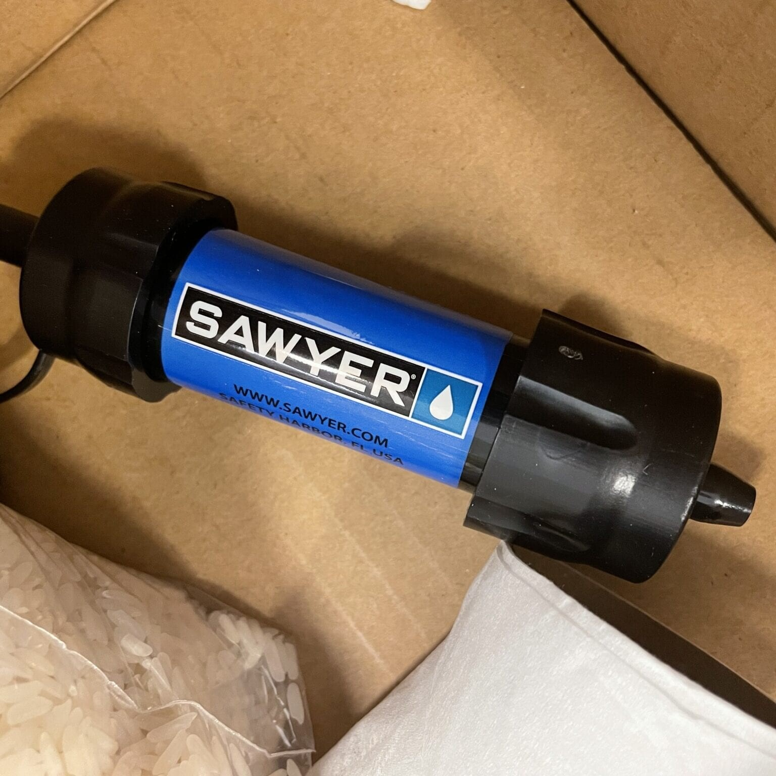 Sawyer water filter