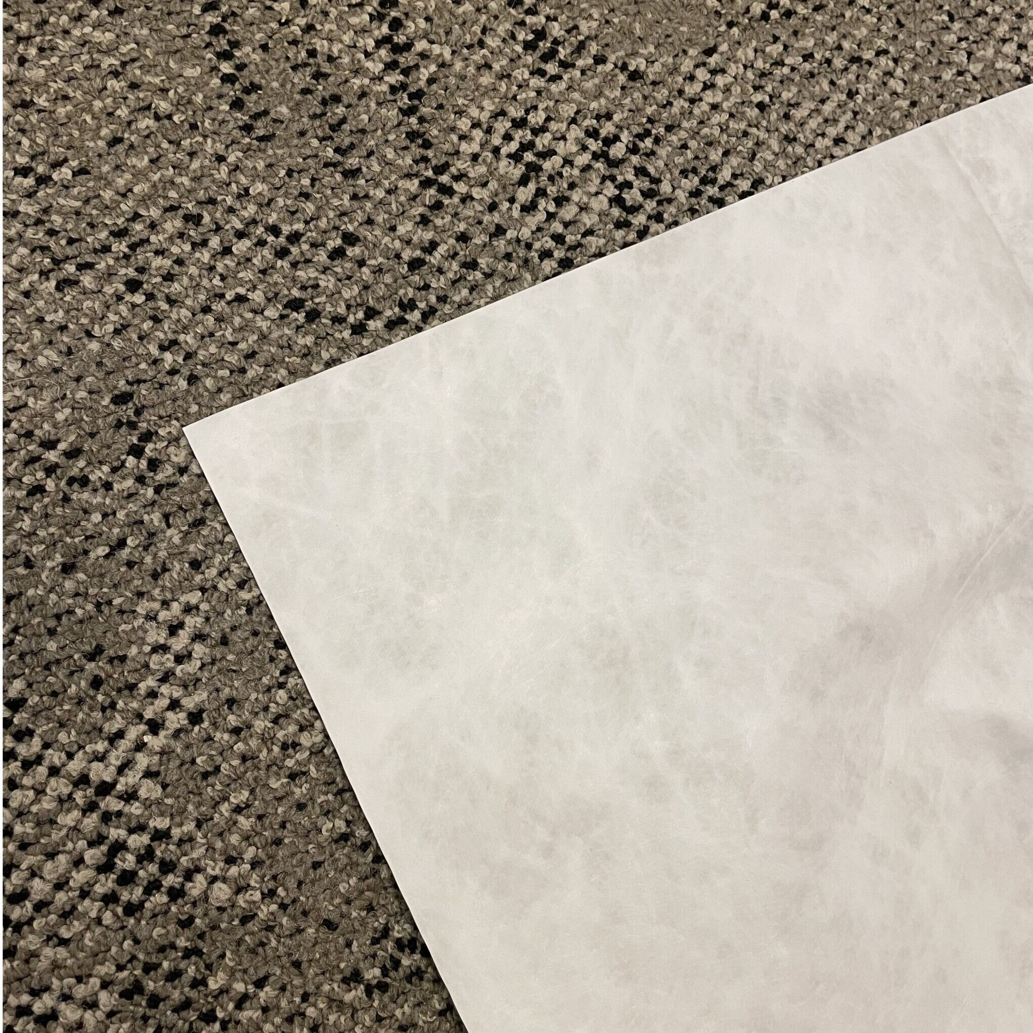 a thin sheet of paper