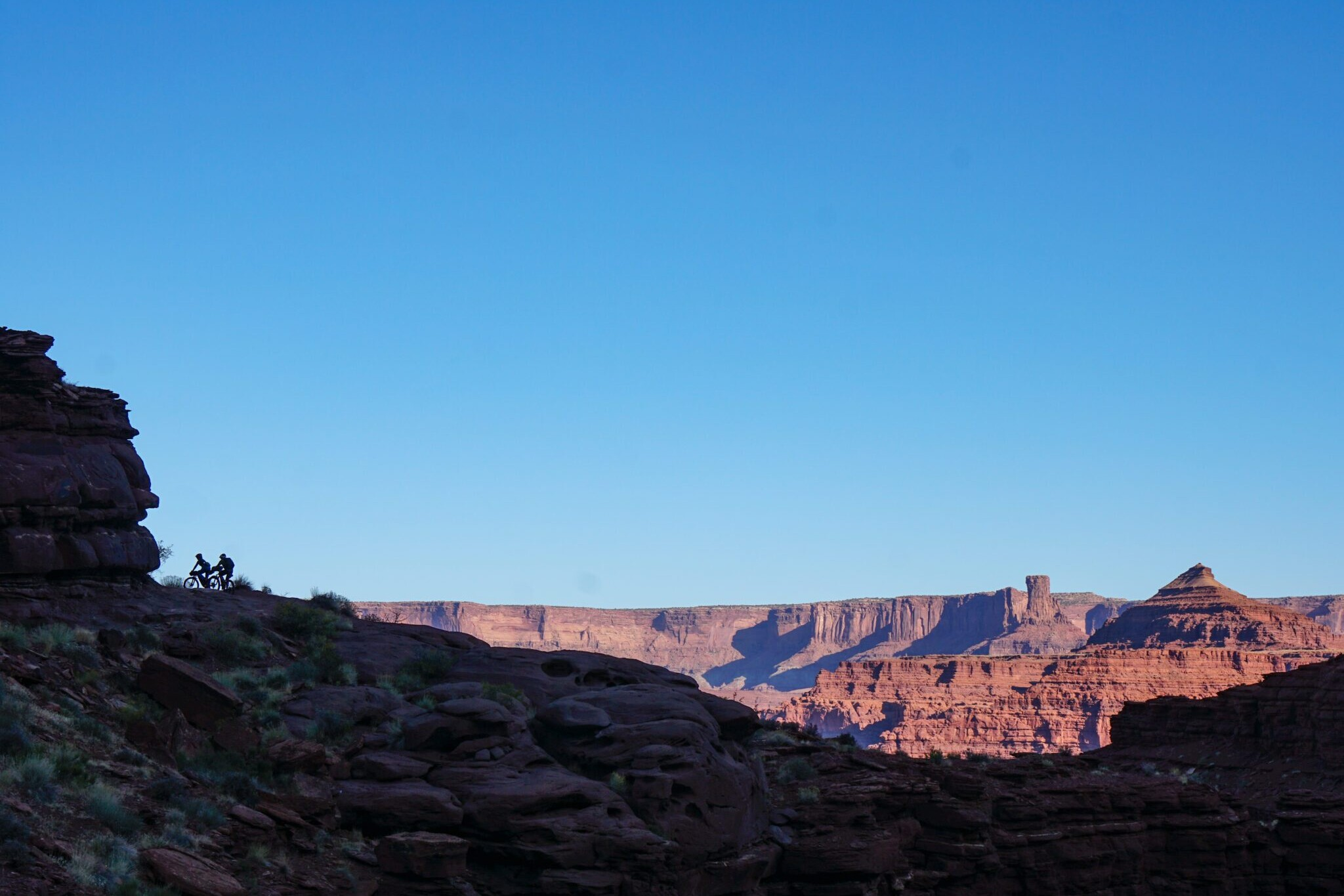 View from the The Bears Ears Loops