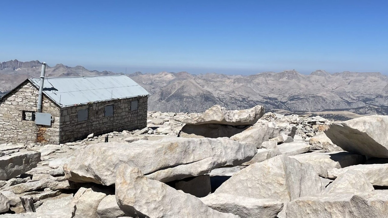 View from the John Muir Trail