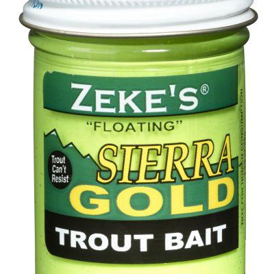 0913 Zeke's Sierra Gold Floating Trout Bait - Chartreuse