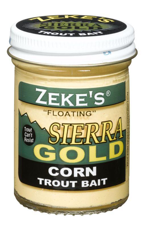 0919 Zeke's Sierra Gold Floating Trout Bait - Corn/Creme
