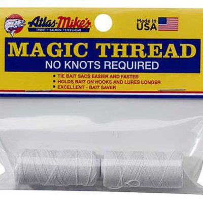 66021 Atlas Magic Thread (2 Spools/Bag) - White