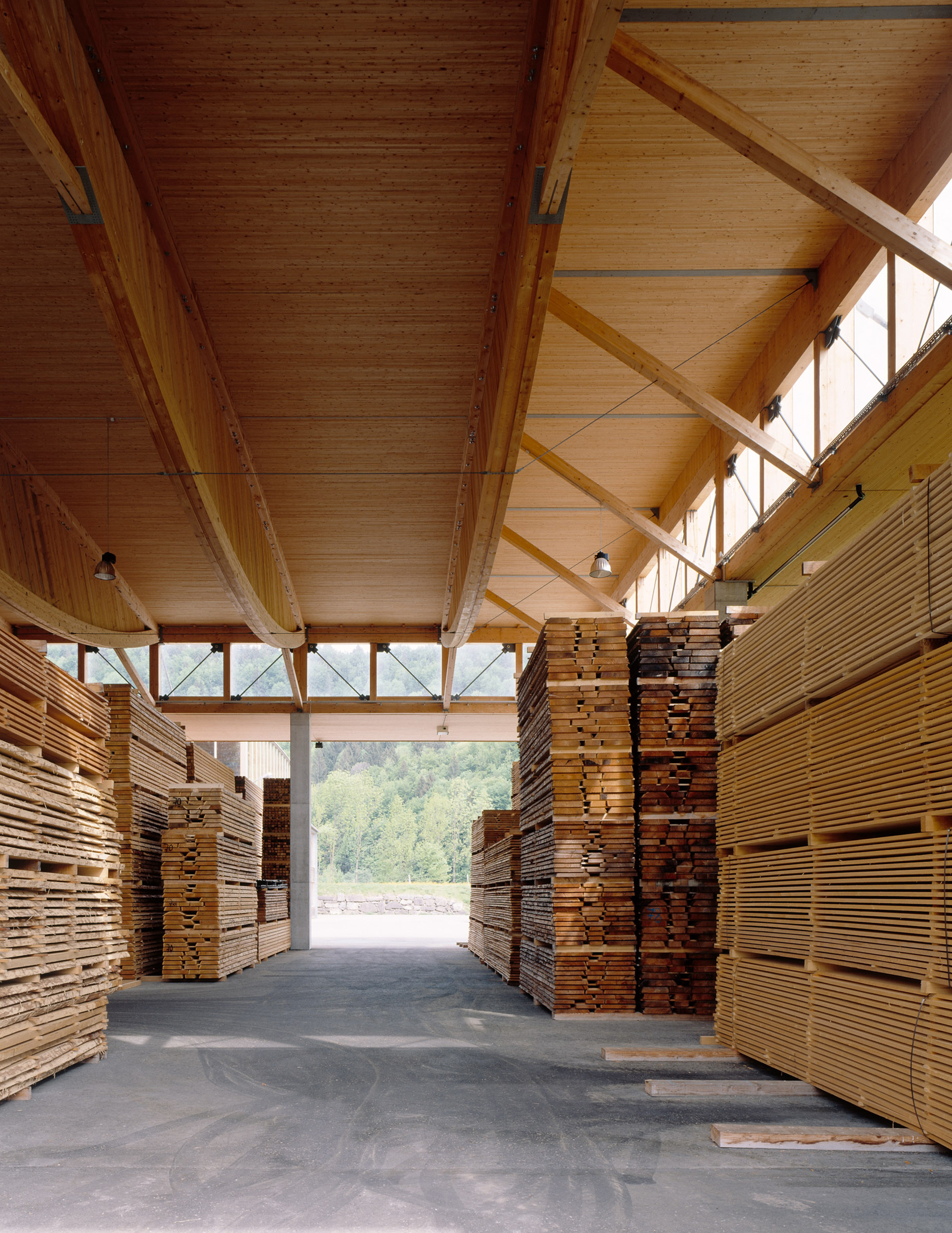 Bild Holz Metzler-holz Kg By Hermann Kaufmann + Partner (627ar) — Atlas Of Places