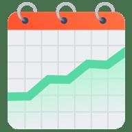 Calendar graph
