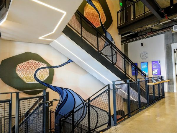 Irresistible stairs make a workplace more sustainable