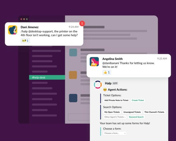 How Slack can be used as a help desk