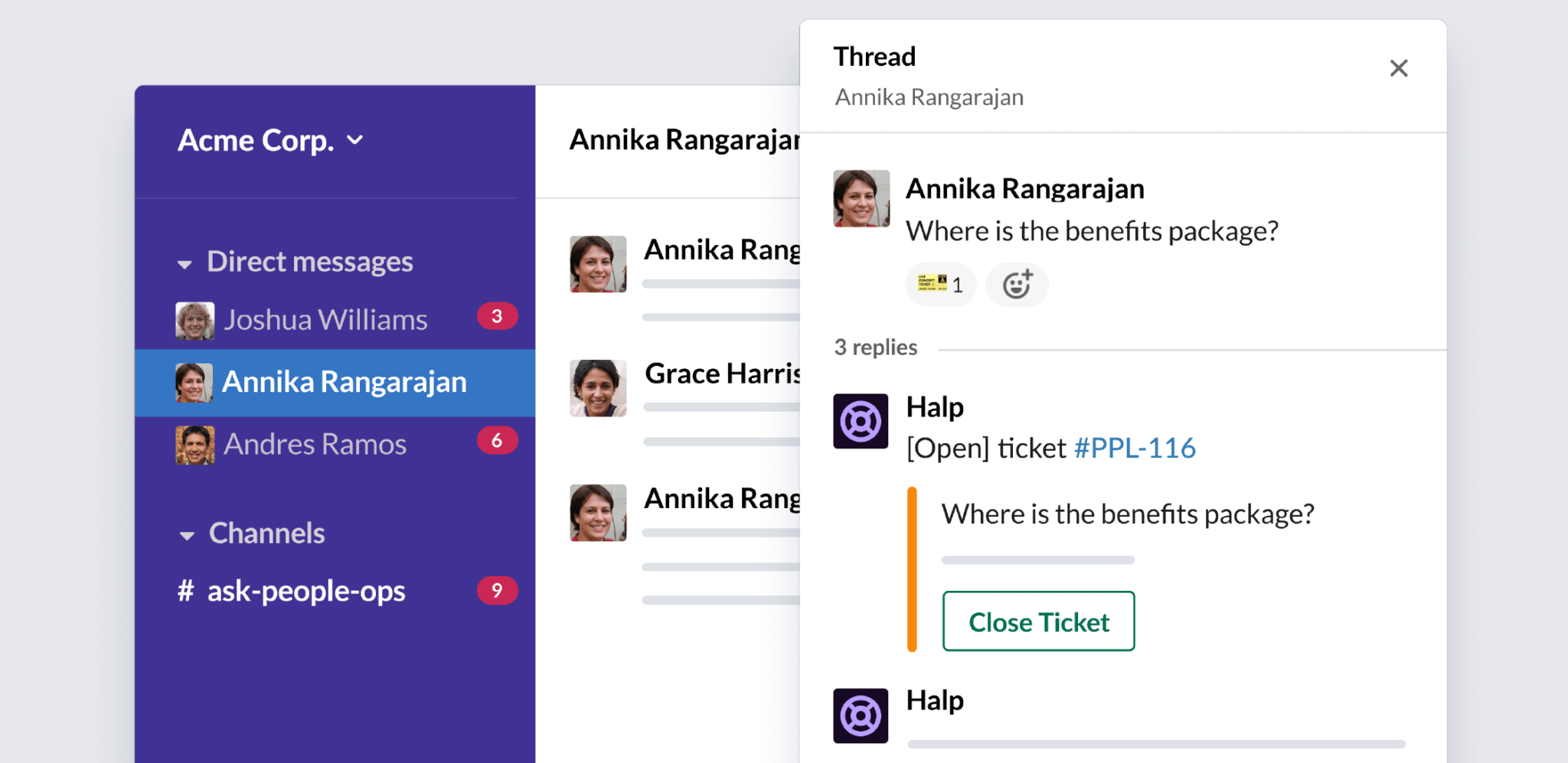 5 reasons your People Ops team needs conversational ticketing