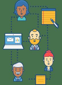 "Workflow ""before"" illustration"