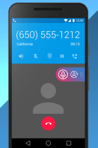 Anonymous incoming android call
