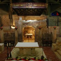 Mary Grotto in Basilica of the Annunciation - Nazareth
