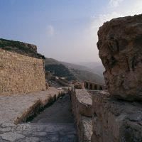 The Backyard of Al-Karak Castle