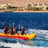 Banana Water Riding in Aqaba