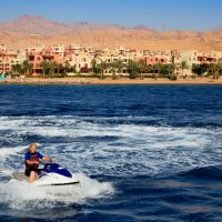 Jet Skiing in Aqaba