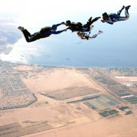 Sky Dive over Aqaba