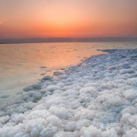 Salts at Dead Sea Shores