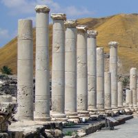 The Colonnaded Street - Bet She'an